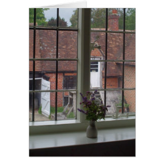 The View From Jane Austen's Window Card