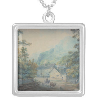 The Village of Rydal, Westmorland Silver Plated Necklace