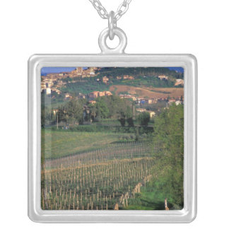 The village of San Gimignano sits in the rolling Silver Plated Necklace