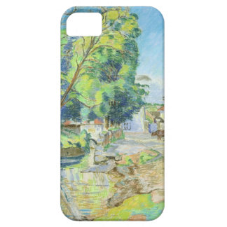 The Village (pastel on paper) iPhone 5 Case