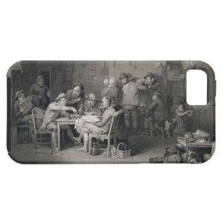 The Village Politicians, engraved by Abraham Raimb Tough iPhone 5 Case