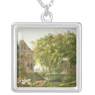 The Village Pond Silver Plated Necklace