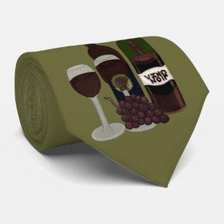 The Vino Vixen - (The Beauty in the Bottle) Tie