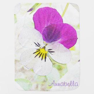 The Viola ~ Baby Blanket