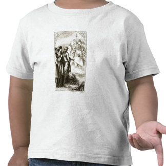 The Vision of the Synod of Clerics, from 'The Tria Shirt