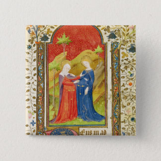 The Visitation 15 Cm Square Badge