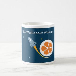 The Walkabout Woman Blast Off Mug! Basic White Mug