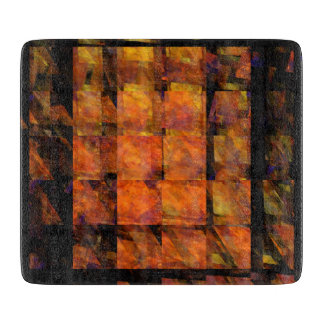 The Wall Abstract Art Rectangle Cutting Board