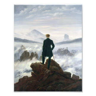 The Wanderer above the Sea of Fog Photo Print