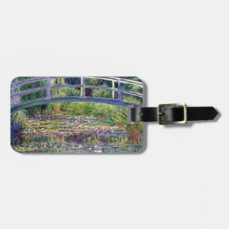 The Water Lily Pond by Claude Monet Luggage Tag