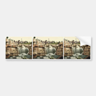 The waterfall, Ramsgate, England rare Photochrom Bumper Sticker