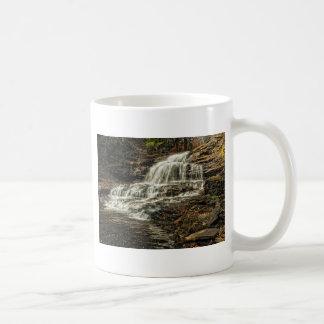 The waterfalls basic white mug