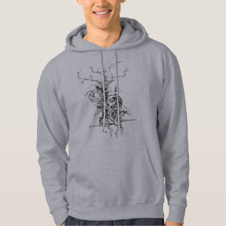 the wave tree hooded pullover
