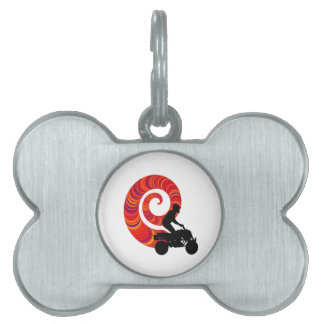 THE WAVES RIDEN PET TAG