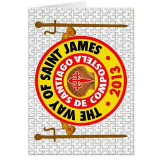 The Way of Saint James 2013 Card