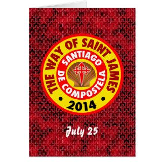 The Way of Saint James 2014 Card