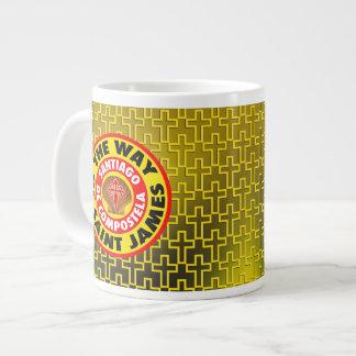 The Way of Saint James Large Coffee Mug