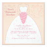 The (Wedding) Dress Invitation