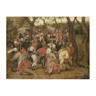 The Wedding Feast Wood Print