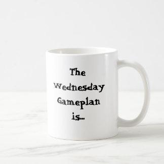 The Wednesday Gameplan is... Procrastinate Coffee Mug