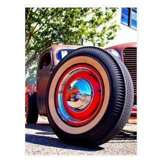 The wheel deal postcard
