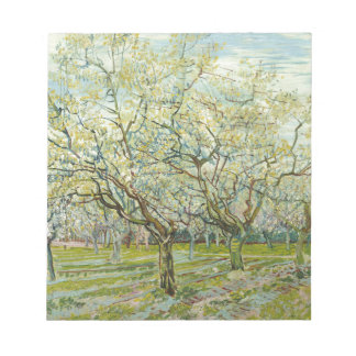 The white orchard by Vincent Van Gogh Notepad