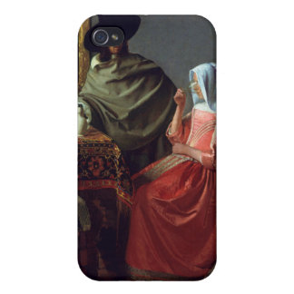 The Wine Glass, Jan Vermeer iPhone 4 Cover