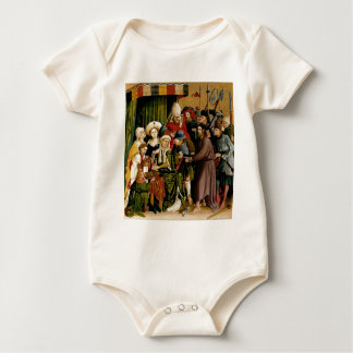 The Wings of the Wurzach Altar by Hans Multscher Baby Bodysuit