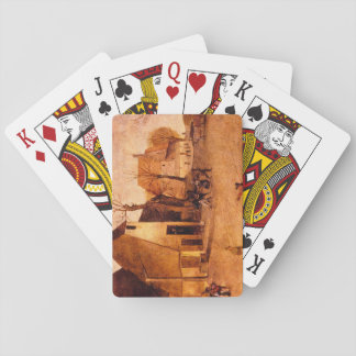 The Winter, the_Dutch Masters Playing Cards