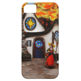 The Witch and her Geese iPhone 5 Covers