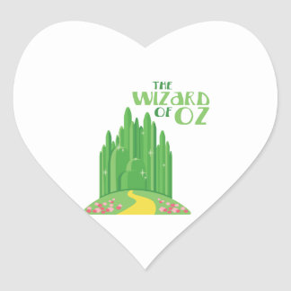 The Wizard of Oz Heart Sticker