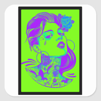 THE WOMAN VIBE STICKERS