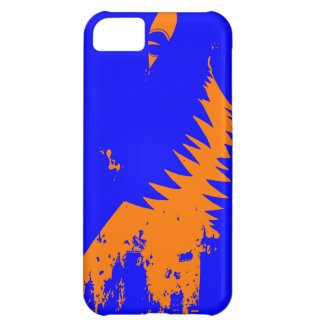 The World Grows Smaller - Orange and Blue iPhone 5 iPhone 5C Case