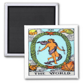 The World Square Magnet