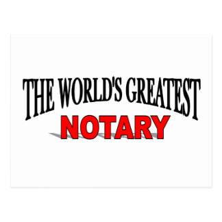 The World s Greatest Notary Post Cards