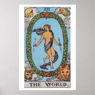 The World Tarot Card Poster