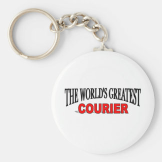 The World's Greatest Courier Key Ring