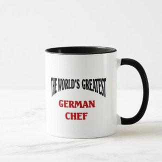 The world's greatest german chef mug