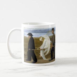 The Wounded Angel Basic White Mug