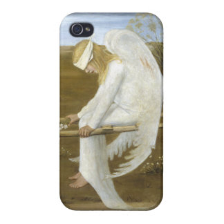 The Wounded Angel (detail) iPhone 4/4S Cover