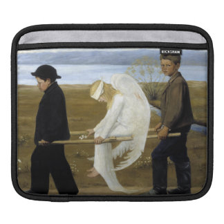 The Wounded Angel iPad Sleeves