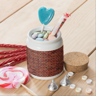 THE WRITING IS ON THE WALL: BRICK WALL THAT IS! CANDY DISH