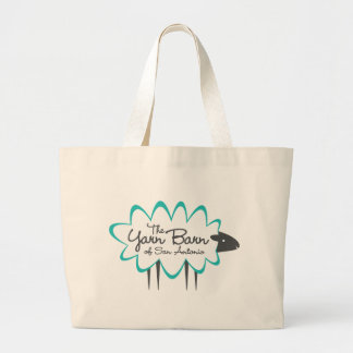The Yarn Barn of San Antonio Sheepy Large Tote Bag