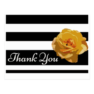 The Yellow Rose of Texas Thank You Postcard