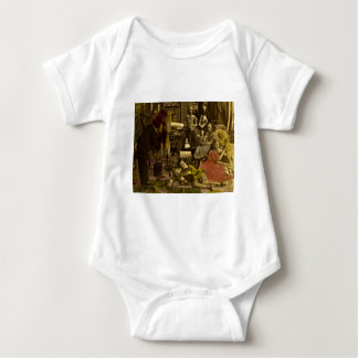 The Young Photographer Stereoview Baby Bodysuit