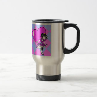 The Young Queen of Hearts Travel Mug