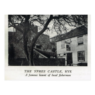The Ypres Castle, Rye Postcard