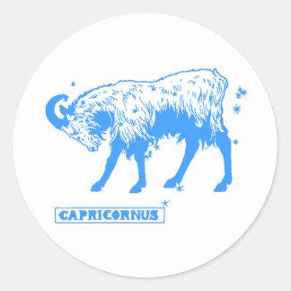 The Zodiac Round Stickers