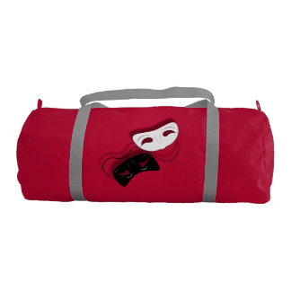 Theatre Masks Gym Bag Gym Duffel Bag