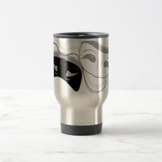Theatre Masks Travel Mug
